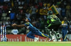 Sri Lanka dropped catch