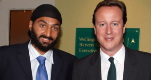 DC with Monty Panesar