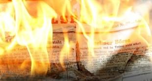 NewsPAPER FIRE